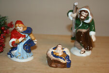 Heilige Familie (3erSet) Vileroy & Boch Nativity