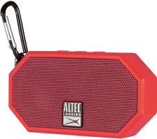 Altec Lansing Mini H2O 3 Mini Wireless Bluetooth Speaker Waterproof - New Red