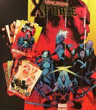 UNCANNY X-FORCE #1 - 17 Marvel Comic Books FULL SERIES Promo Poster Storm X-Men
