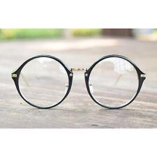 1920s Vintage Classic oliver eyeglasses 33E17 black round kpop peoples frames