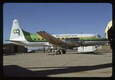 Aeroquetzal Convair 580 TG-MYM Kodachrome Aircraft Slide/Dia