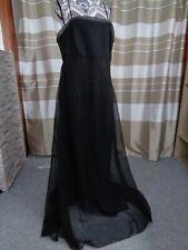 (A178) Ausgefallenes Damen Abendkleid GR: GR: 44