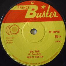 """PRINCE BUSTER - Big Five ~ 7"""" Single"""