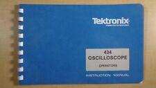 Tektronix 434 Oscilloscope Operators Instruction Manual 7e B6