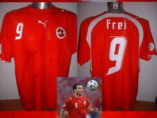 Svizzera FREI SUISSE FR adulto XL Camicia PUMA JERSEY SOCCER TRIKOT AWAY 2006