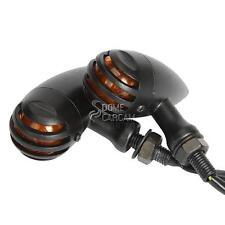 Grille LED Turn Signals Amber For Harley Davidson XL Sportster V Rod Hugger 883