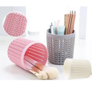 Hollow Pen Pencil Pot Holder Cosmetic Stationery Organizer Brush Container