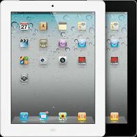 Apple iPad 2 - 16GB/32GB/64GB - Wi-Fi 9.7in - Black/White Tablet