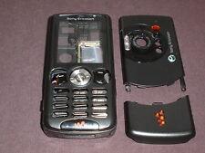 new sony ericsson w810 cover housing keypad set  black colour