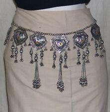 Kuchi Tribal ats BELT Hip scarf Bellydance costume skirt Gypsy Waist Jewelry 376