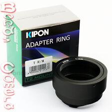 Kipon T2 T-2 mount telephoto lens to Leica M Adapter M8 M9 M 240 Ricoh GXR A12