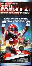 F1 Singapore Road Access & Public Transport Guide 2011
