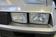 Scheinwerfer DMC De Lorean DeLorean NEU H4 Reflektoren mit E Prüfzeichen