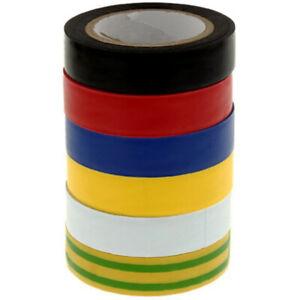 Isolierband VDE Tape Elektro Klebeband Elektriker band PVC 15 mm x 10 m 0,10€/1m