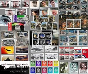 2016-2020 GIBRALTAR Mint MNH Stamp Sets & Sheets ALL Less Than FACE VALUE