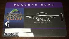 SENECA ALLEGANY CASINO PLAYERS CLUB SLOT CARD COLLECTIBLE