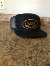 NWT Vans Dark blue and Gold HaT Snapback Free shipping