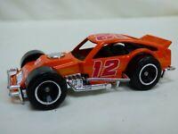 Vintage 1987 Matchbox Modified Racer 12 Diecast Orange Toy Model Car Collectible