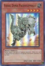 1 X Fossil Dyna Pachycephalo CT08-en012 SUPER LIMITED EDITION Yugioh Mint Cards