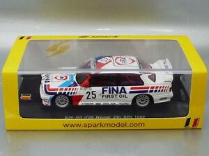 1/43 Spark BMW E30 #25 WINNER 24H SPA 1990