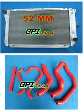 aluminum radiator &hose for Ford EF EF2 EL NF NL DF DL Falcon Fairline Fairmont