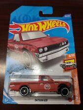 Hot Wheels 2020 Datsun 620 Truck Red HW Hot Trucks #8/10 *WHEEL ERROR* *NEW*