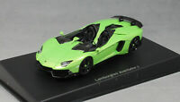 Autoart Lamborghini Aventador J Roadster in Green 2012 54654 1/43 NEW