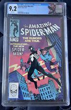 Amazing Spider-Man #252 CGC 9.2 Near Mint 1st App of Black Costume Newsstand