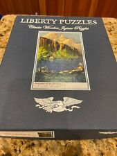Liberty Classic Wooden Zigsaw Puzzles Palisades of the Hudson 384 pieces