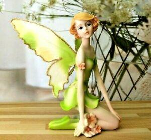 Angel Fairy Garden Ornament Statue Figurine Tabletop Home Office Decoration Art