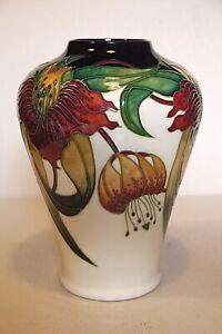 Moorcroft Large Anna Lily Vase - Nicola Slaney 2001