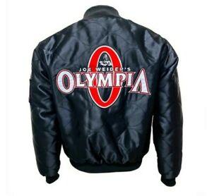 Veste MR Olympia Hiver Joe Weider's Black Limited Rare Bodybuilding Fitness