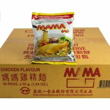 30 Instant Mama Noodles Chicken Flavour 55g R010x30 *UK Seller - Quick delivery*