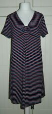 Topshop Maternity Striped Jersey Dress Size UK 18