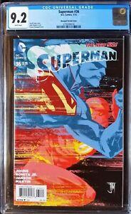 Superman (2011 3rd Series) #36 Manapul Variant CGC 9.2 1:50