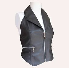Ladies Collared Halter Vest - Size 18 HLT-1