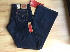 NWT Vintage Levi Strauss 939 Womens Low Boot Cut Dark Blue Jeans W32 L33