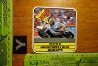 Alter Aufkleber Motorrad Racing Rallye Motorsport SUZUKI GP Winner 1976-79