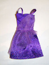 Barbie Fashion Outfit Purple Dress For Model Muse Barbie Doll fn713