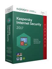 Kaspersky Lab Internet Security 2017 (Schutz für 1 Gerät für 1 Jahr)