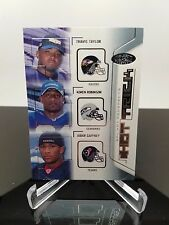 2002 Fleer Hot Prospects #8 Hat Trick Travis Taylor, Jabar Gaffney, K. Robinson