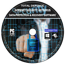 Internet Security 2020 Firewall Spyware Trojan Removal Data Recovery PC DVD