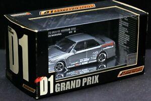 Hot Work 1/64 D1 Drift 2002 Nissan Skyline ER34 BLITZ Ken Nomura URAS K5-S660R