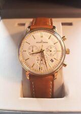 Jacques Lemans Chronograph Herrenuhr Herren Uhr Modell 209 Chrono Kevin Costner