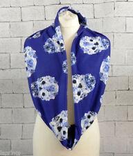 Écharpes et châles bleu à motif Floral pour femme
