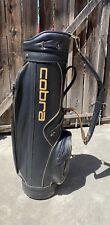 vintage 1990's King Cobra golf Staff bag Black