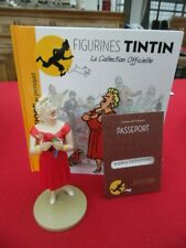 TINTIN  FIGURINE  COLLECTION  OFFICIELLE N° 5   CASTAFIORE PERROQUET   NEUF