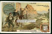 Icelands Almannagja Rift Thingvalla 1910 Trade Ad Card