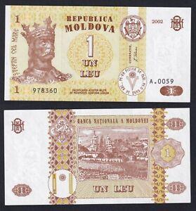 Moldavia 1 leu 2002 FDS/UNC  C-08