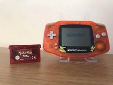 Nintendo Gameboy Game Boy Advance Bundle GBA * Nuova Shell * + Pokemon Ruby Gioco *